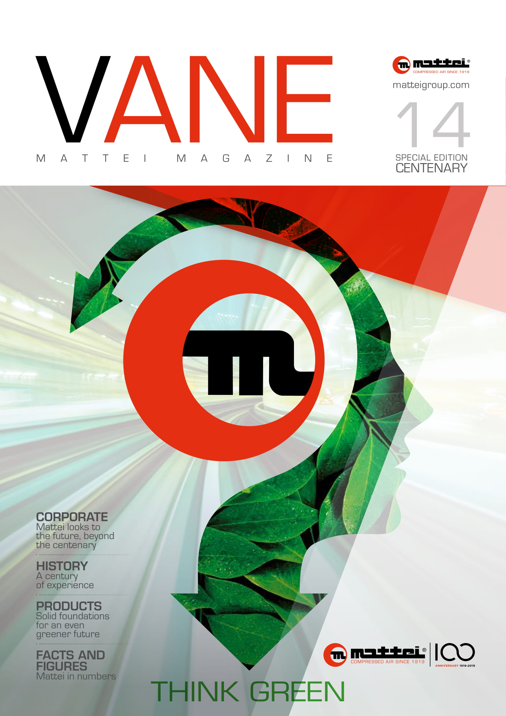 Cover magasine Vane n°14
